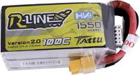 Tattu R-Line 1550mAh 15.2V 100C 4S High Voltage LiPo Accu