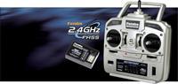 Futaba Skysport T4YF RC handzender 2,4 GHz Aantal kanalen: 4 Incl. ontvanger