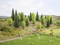Set bomen Gemengd bos Hoogte (min.): 50 mm Hoogte (max.): 140 mm NOCH 26835 1 stuks
