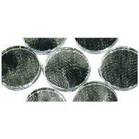 Rayher hobby materialen Zilveren zelfklevende mozaiek rond