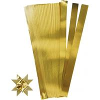 Bellatio 100 Papieren stroken goud 73 cm