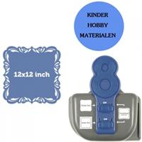 Rayher hobby materialen Lucky 8 pons Fancy Scroll 3-in-1