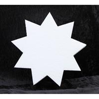 Bellatio Piepschuim vorm 9-punts ster 5 cm