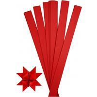 Bellatio 100 Papieren stroken rood 73 cm
