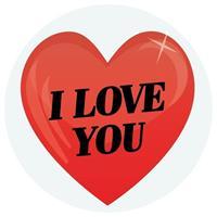 Shoppartners Inpakpapier decoratie hart cadeausticker 9 cm