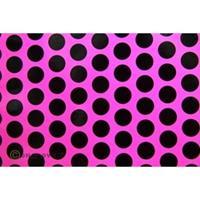 oracover Easyplot Fun 1 92-014-071-002 Plotterfolie (l x b) 2 m x 20 cm Neon-roze-zwart (fluorescerend)
