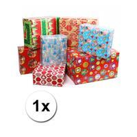 Shoppartners Kerst kadopapier 1 rol