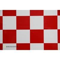 Strijkfolie Oracover 491-010-023-002 Fun 5 (l x b) 2 m x 60 cm Wit-rood