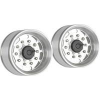 Carson Modellsport 1:14 Truck-oplegger Velgen Aluminium Euro-Optik Zilver 2 stuks