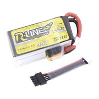 LiPo accupack 14.8 V 1550 mAh 95 C Tattu Stick XT60