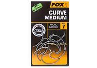 Fox Edges Arma Point Curve Shank Medium - Haakmaat 8 - 10 Stuks