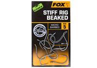 Fox Edges Arma Point Stiff Rig Beaked - Haakmaat 4 - 10 Stuks