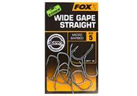 Fox Edges Arma Point Wide Gape Straight - Haakmaat 6 - 10 Stuks