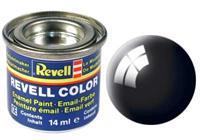 Revell Enamel NR.7 Zwart Glanzend - 14ml