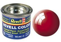 Revell Enamel NR.31 Vuurrood Glanzend - 14ml