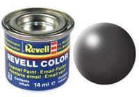 Revell Enamel NR.378 Donker-Grijs Zijdemat - 14ml