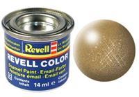 Revell Enamel NR.92 Messing Metallic - 14ml