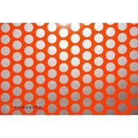 Oracover Orastick Fun 1 45-064-091-010 Plakfolie (l x b) 10 m x 60 cm Rood-oranje-zilver (fluorescerend)