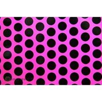 Oracover Orastick Fun 1 45-014-071-010 Plakfolie (l x b) 10 m x 60 cm Neon-roze-zwart (fluorescerend)