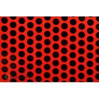 Oracover Orastick Fun 1 45-021-071-010 Plakfolie (l x b) 10 m x 60 cm Rood-zwart (fluorescerend)