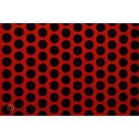 Oracover Orastick Fun 1 45-022-071-010 Plakfolie (l x b) 10 m x 60 cm Lichtrood-zwart