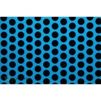 Oracover Orastick Fun 1 45-051-071-010 Plakfolie (l x b) 10 m x 60 cm Blauw-zwart (fluorescerend)