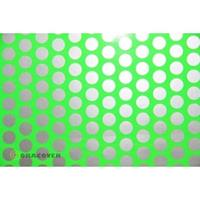 Oracover Orastick Fun 1 45-041-091-010 Plakfolie (l x b) 10 m x 60 cm Groen-zilver (fluorescerend)