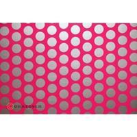 Oracover Orastick Fun 1 45-014-091-002 Plakfolie (l x b) 2 m x 60 cm Neon-roze-zilver (fluorescerend)