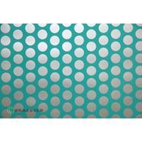 Oracover Orastick Fun 1 45-017-091-002 Plakfolie (l x b) 2 m x 60 cm Turquoise-zilver