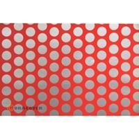 Oracover Orastick Fun 1 45-021-091-002 Plakfolie (l x b) 2 m x 60 cm Rood-zilver (fluorescerend)