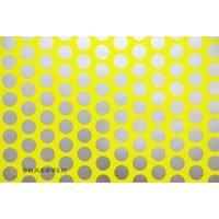 Oracover Orastick Fun 1 45-031-091-002 Plakfolie (l x b) 2 m x 60 cm Geel-zilver (fluorescerend)