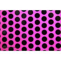 Oracover Orastick Fun 1 45-014-071-002 Plakfolie (l x b) 2 m x 60 cm Neon-roze-zwart (fluorescerend)