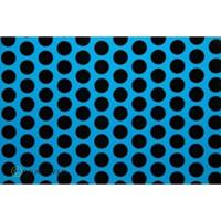 Oracover Orastick Fun 1 45-051-071-002 Plakfolie (l x b) 2 m x 60 cm Blauw-zwart (fluorescerend)
