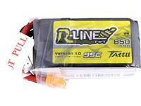 LiPo accupack 14.8 V 850 mAh 95 C Tattu Stick XT30