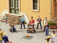 NOCH 0012820 H0 sound-scène straatmuzikanten