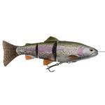 4D line thru trout - 15 cm - rainbow