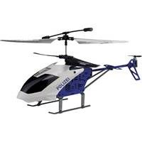 Europlay RC Air Control politiehelikopter 20 cm wit/blauw
