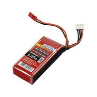 Conrad energy LiPo accupack 11.1 V 1000 mAh Aantal cellen: 3 25 C Stick BEC