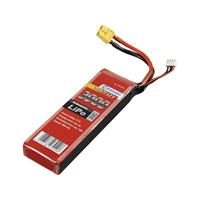 Conrad energy LiPo accupack 11.1 V 3000 mAh Aantal cellen: 3 20 C Stick XT60