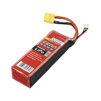 Conrad energy LiPo accupack 11.1 V 5500 mAh Aantal cellen: 3 20 C Stick XT90