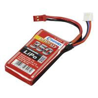 Conrad energy LiPo accupack 7.4 V 350 mAh Aantal cellen: 2 25 C Stick BEC