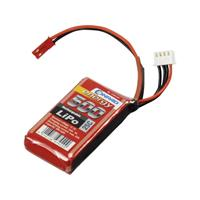 Conrad energy LiPo accupack 11.1 V 500 mAh Aantal cellen: 3 25 C Stick BEC