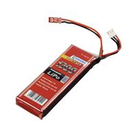 Conrad energy LiPo accupack 7.4 V 1300 mAh Aantal cellen: 2 25 C Stick BEC