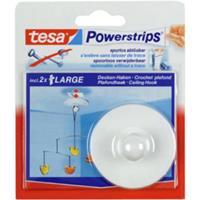 tesa Powerstrips Deckenhaken, weiß, Haltekraft: max. 0,5 kg