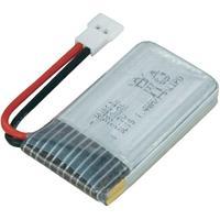 H107 X4 380mAh Lipo Batterij