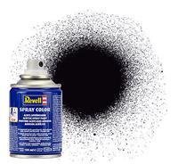 Revell Spray Color Zwart Mat 100ml