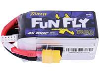 FunFly 1550mAh 14.8V 100C 4S LiPo accu