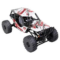 Reely Hiker SFX 1:18 Brushed RC auto Elektro Crawler 4WD RTR 2,4 GHz Incl. soundmodule, Incl. accu en lader