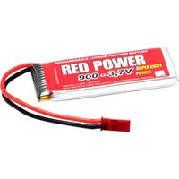 Red Power LiPo accupack 3.7 V 900 mAh Aantal cellen: 1 25 C Softcase BEC