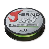 J-Braid X8 - Chartreusse - Dyneema - 0.10mm - 150m